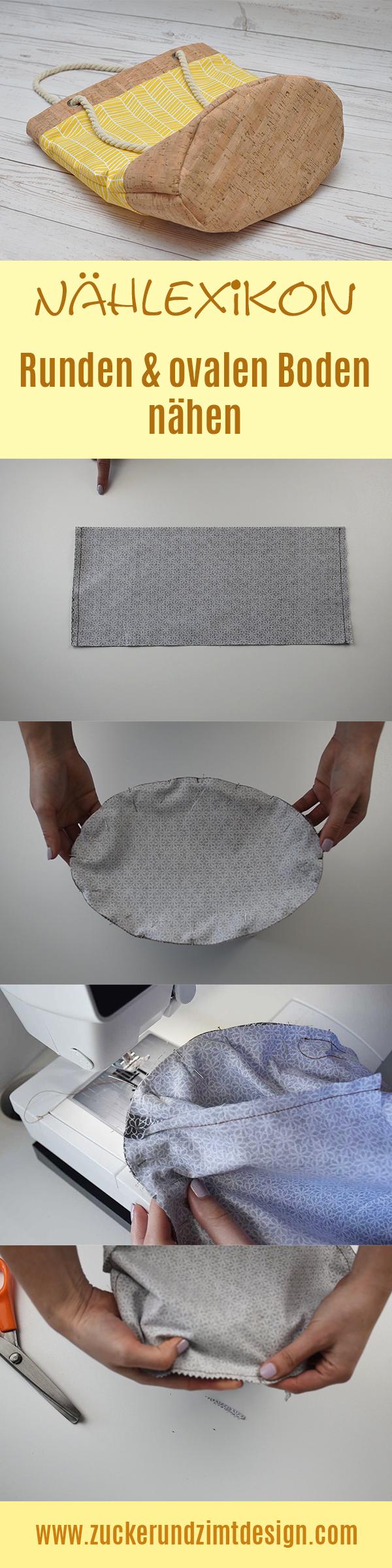 Photo of Sew round and oval bottom [Nählexikon]