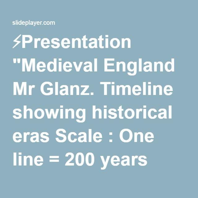 Medieval England Mr Glanz. –  ppt download