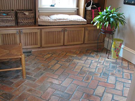 Piso ladrillos bar pinterest ladrillo pisos y piso - Patio piso de ladrillo ...
