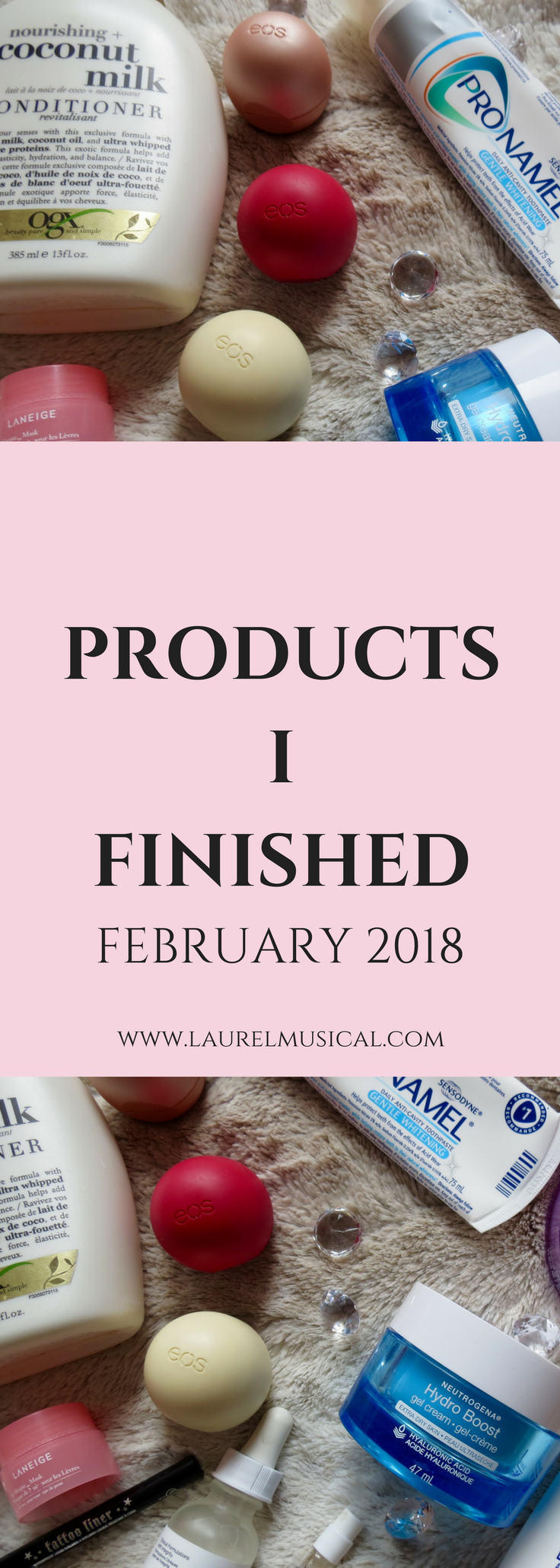 Products I Finished February 2018 Cream for dry skin