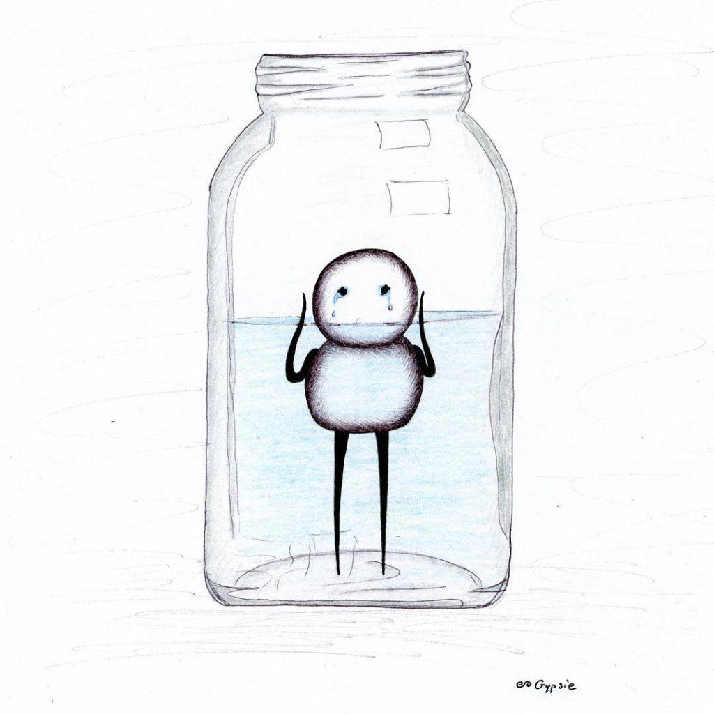 25 Ilustrações Simples Mas Com Significados Super Profundos