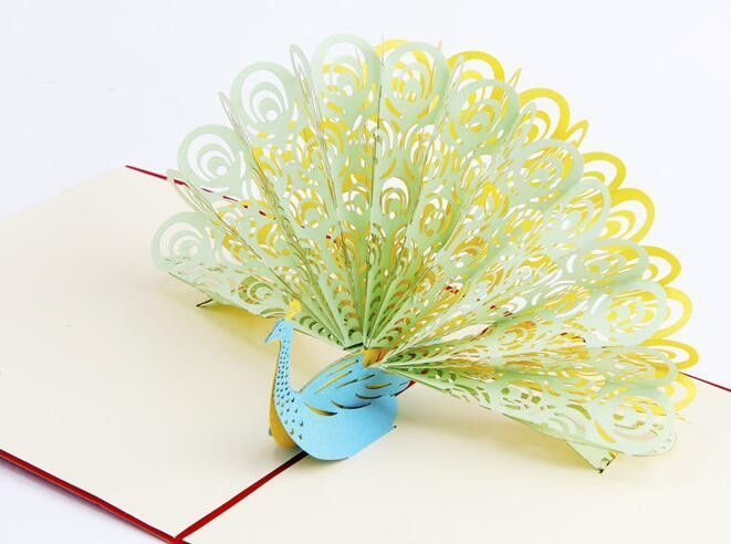 Wholesale 3d greeting card paper sculpture of phoenix kids gift wholesale 3d greeting card paper sculpture of phoenix kids gift christmas decoration supplies invitation card m4hsunfo