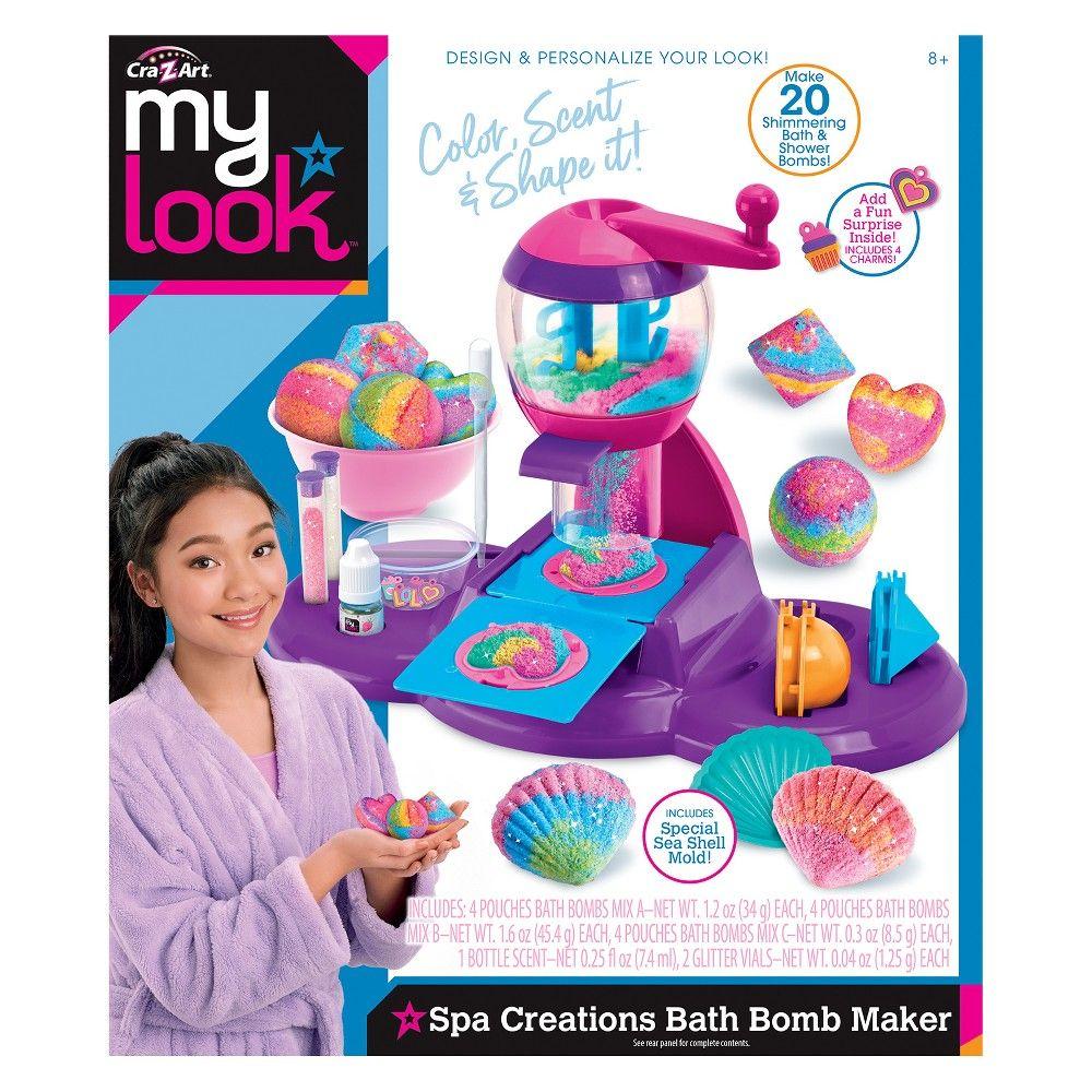 4b06c489a My Look Spa Creations Bath Bomb Maker by Cra-Z-Art | Products | Bath ...