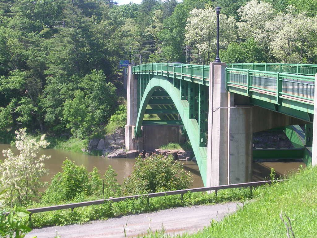 Delaware Water Gap  Bridge from NY to PA