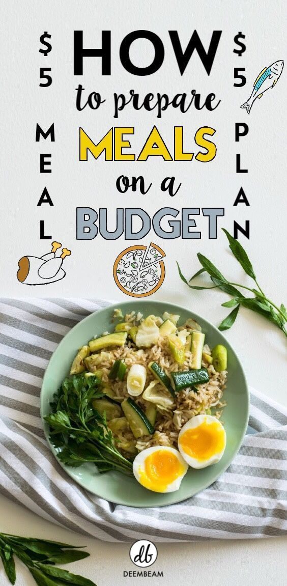 How To Prepare Meals On A Budget Using 5 dollar Meal Plan | Exercise And Fitness Tips | #exercise #f...