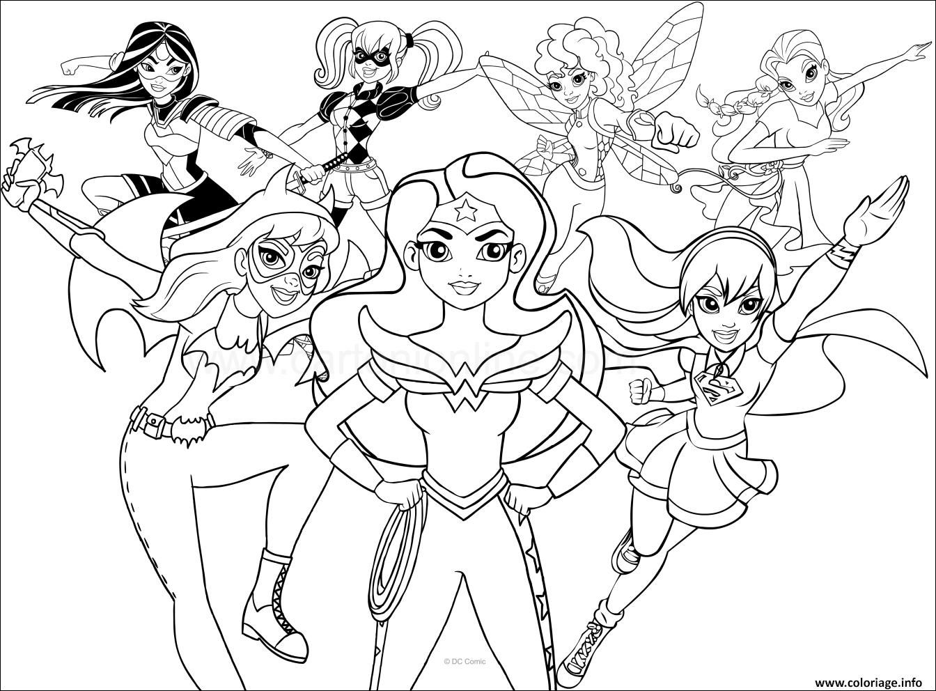 13 Present Coloriage Super Heros Girl Pictures Superhero Coloring Pages Superhero Coloring Super Hero Coloring Sheets