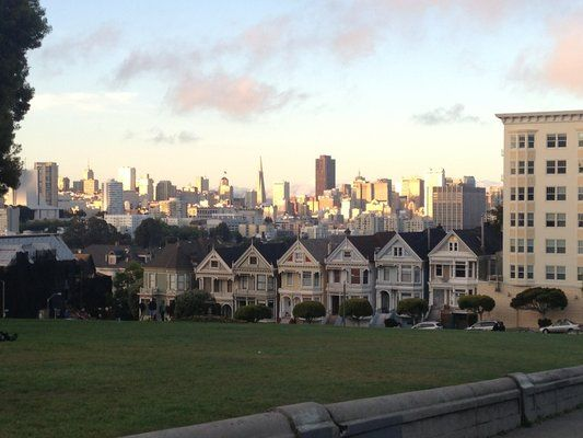 alamo square the full house park address is 1709 broderick st san francisco road trip. Black Bedroom Furniture Sets. Home Design Ideas