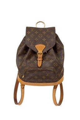 248b339d00c11 Louis Vuitton - Monogram Canvas Montsouris MM Backpack