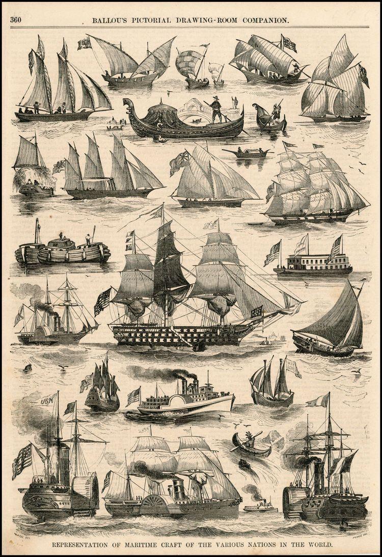 15 Pictures And History Of Sailing Ships Skibe Billeder Og Bad