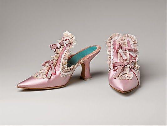 90dd47e0d325d Marie Antoinette's Shoes in 2019 | historical style | Manolo blahnik ...