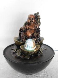 This Is A Beautiful Indoor Table Top Happy Buddha Oriental