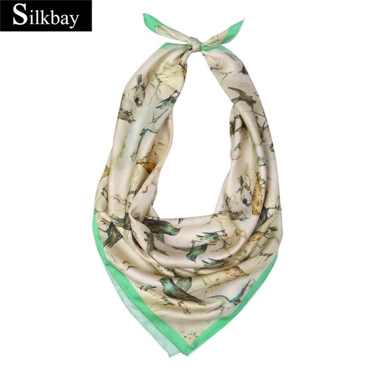 Hot Selling Wholesale 90x90cm 100 Silk Turkey Scarf With High Quality Wholesale Scarves Scarf Online Printed Silk Scarf