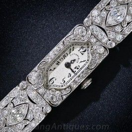 Tiffany & Co. Vintage Diamond Dress Watch