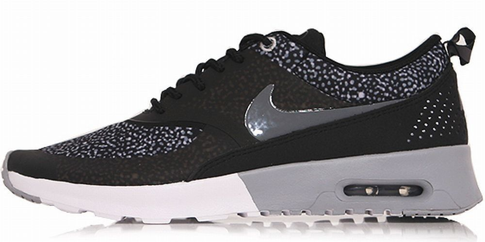 original nike air max thea print w sneaker damen schwarz. Black Bedroom Furniture Sets. Home Design Ideas