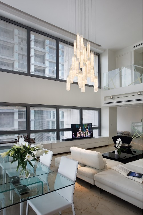 Contemporary Chandelier For Dining Room Fair Elegant Modern Artisan Crafted Glass Lighting Such As This Design Decoration