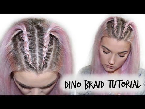 Unicorn Braid Pull Through Braid Tutorial Lovefings Youtube