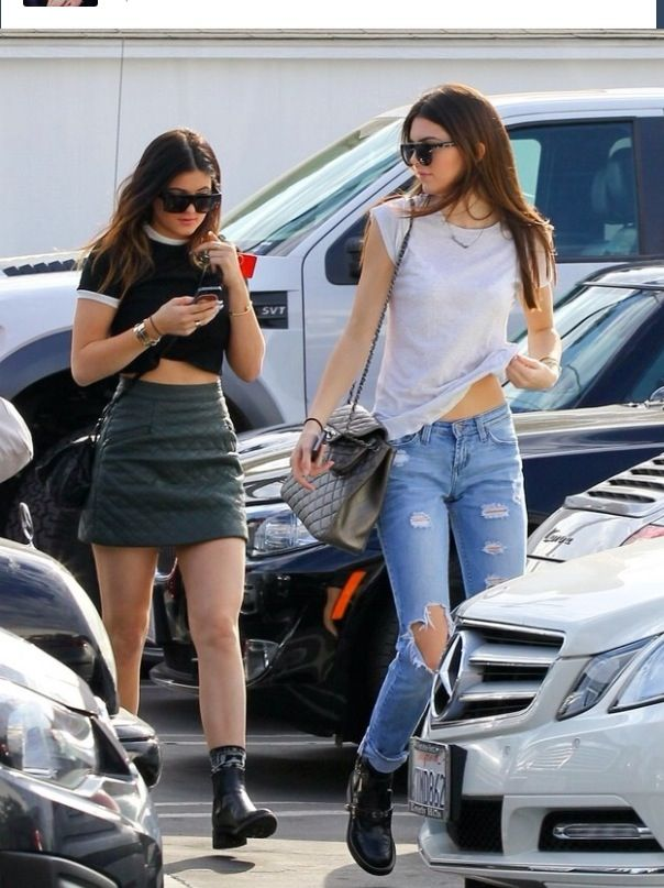 Kylie and Kendal Jenner Style