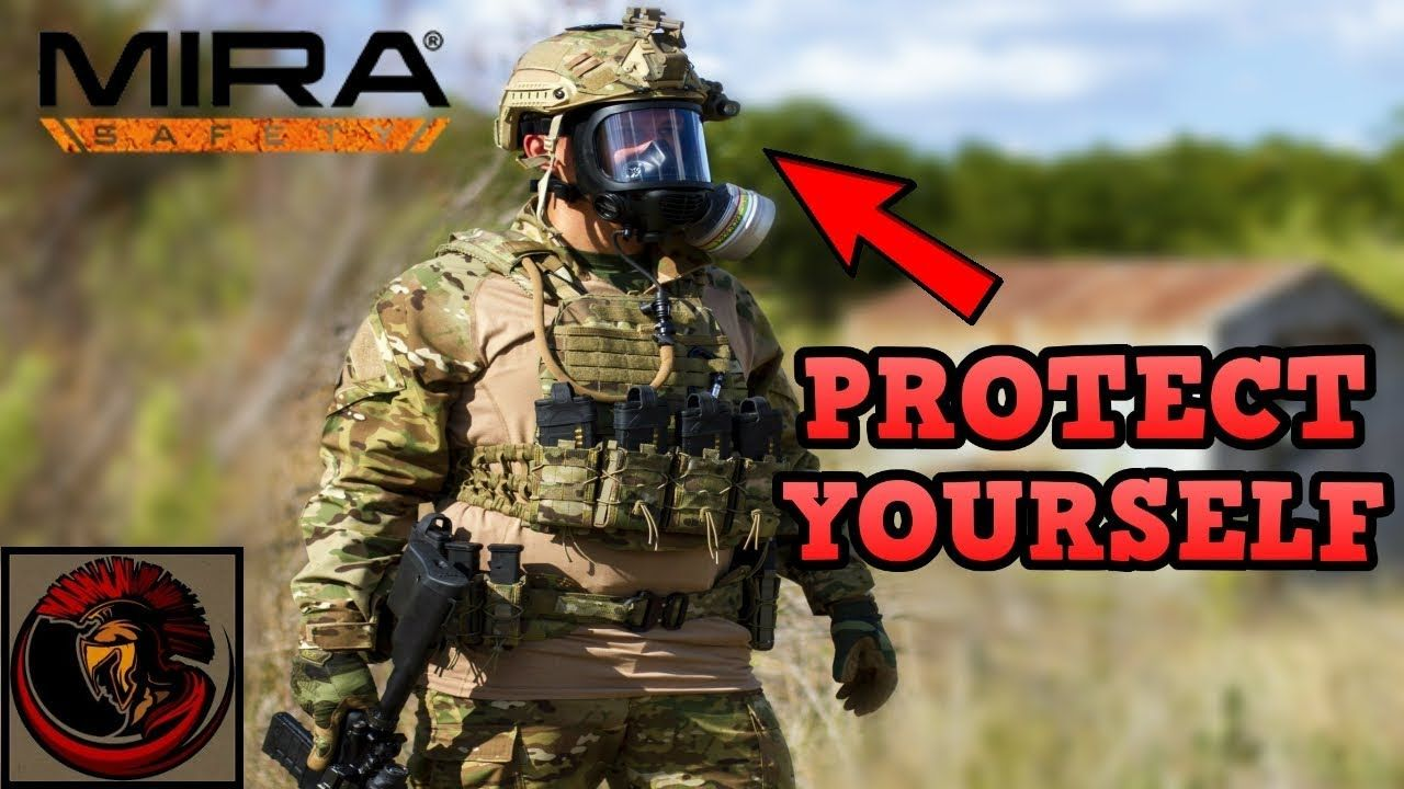MIRA Safety CM6M Gas Mask Overview TACTICAL GAS MASK