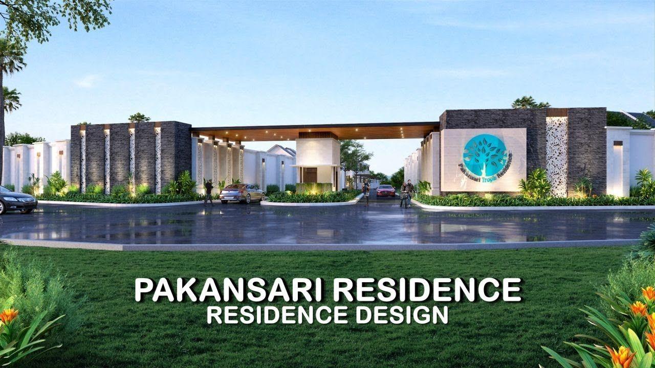 Jasa Arsitek 3D Video Desain Perumahan Pakansari Bogor