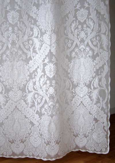 on curtain of sources pin vintage woven panels lace one detail our old cotton year nottingham curtains panel coverings window melrose the few looms