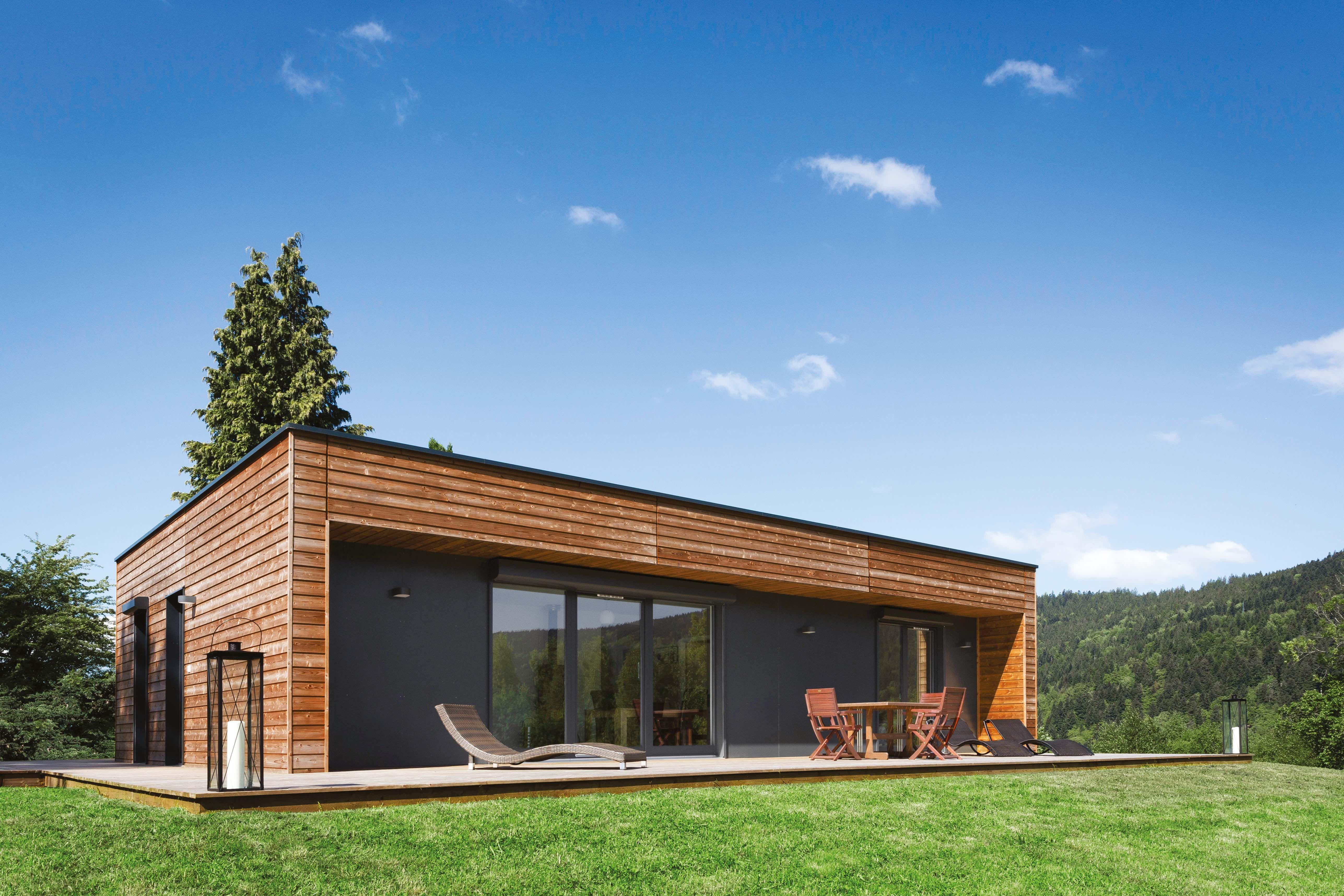 Combien coute une maison ossature bois for Combien coute construction maison