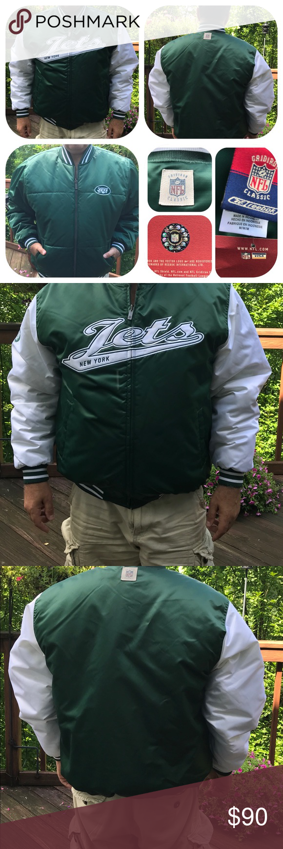 huge discount 7b6a3 b7137 Men's NY Jets Winter jacket. Brand New Men's NY Jets Winter ...