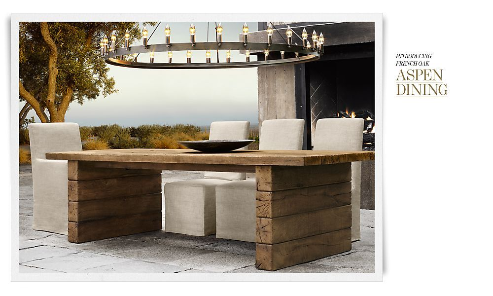 Restoration Hardware Aspen Collection Think Iu0027ll Just Make This Its  Probably 90% Cheaper Then Restoration Hardware
