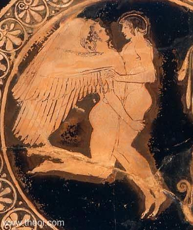 Paintings god ancient greek