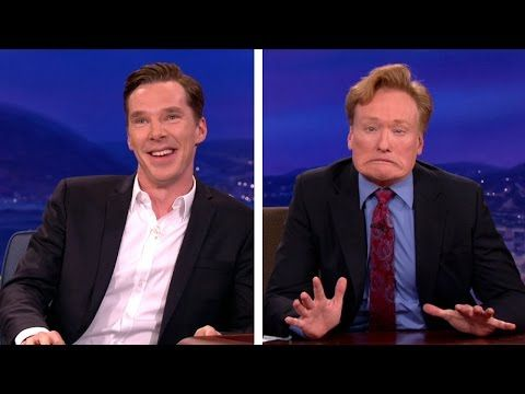 Benedict Cumberbatch Gives Conan Dragon Acting Lessons