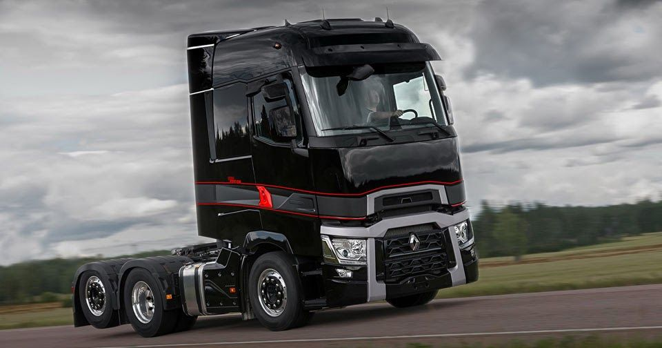 Truckers, Rejoice: This Is The Renault T High Edition! #New_Cars #Renault
