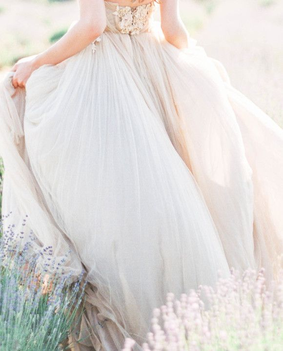 Ethereal Bridal Style in a Tulle Gown | The Dress | Pinterest ...