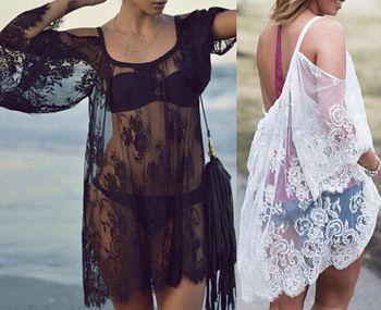 e19e542bbe Robe/Kimono idea to wear over bikini. | Project RBN1 | Lace swimsuit ...