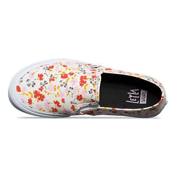 Womens Slip-On SF Floral Vans 26cc324e9