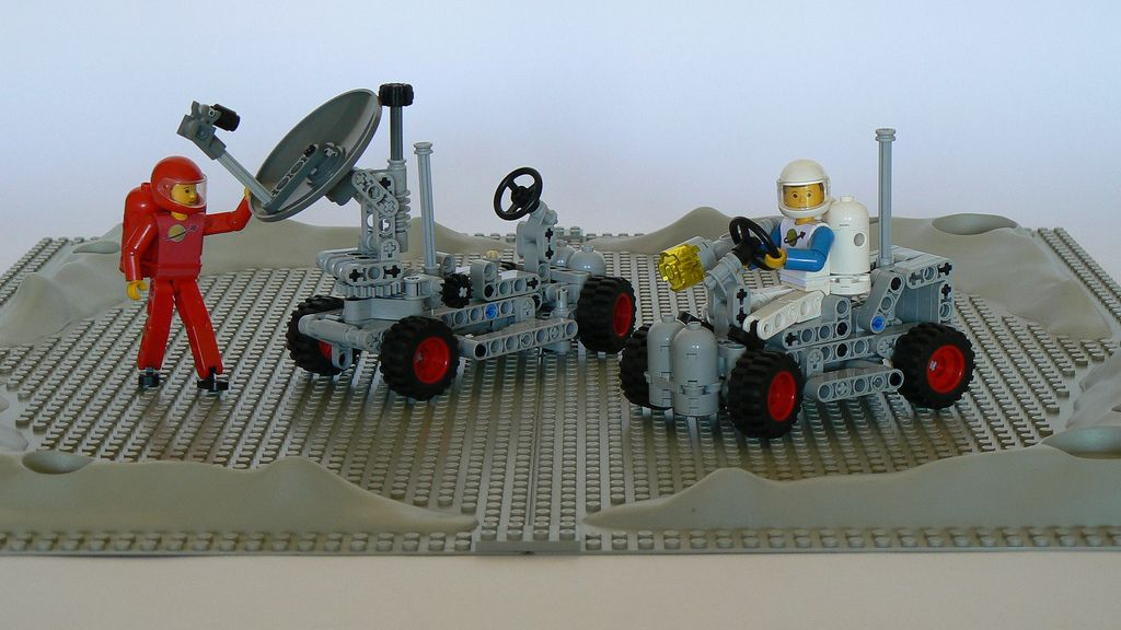 Classic Technic Space 886 and 889 | by Barman76