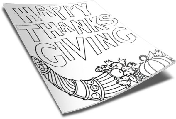 Thanksgiving Coloring Page Thanksgiving Coloring Pages Heart