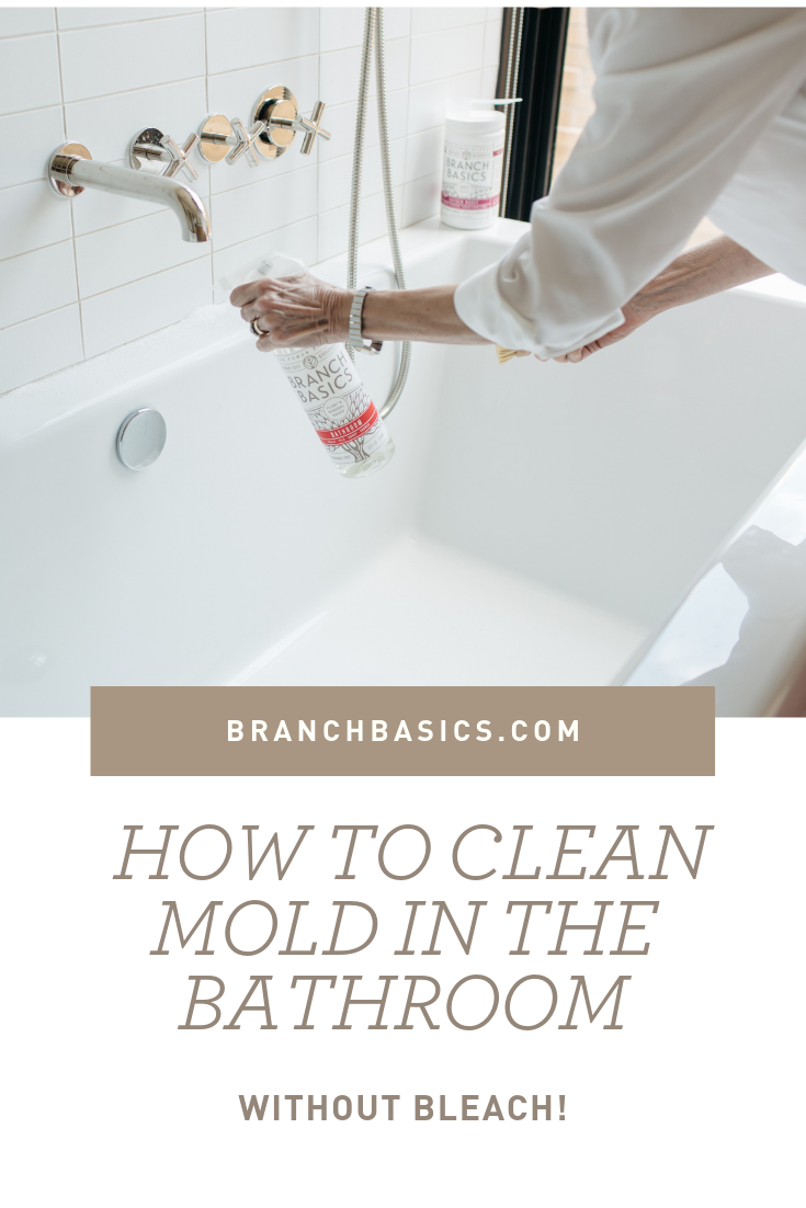 How to Clean Mold On Bathroom Grout and Showers Without Bleach | BB