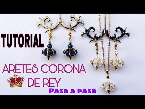 Corona rey grandes aretes colgantes pendiente metal plata