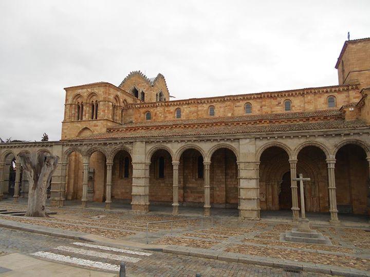 Basílica de San Vicente. Segunda iglesia en tamaño de Avila, sólo superada por la Catedral