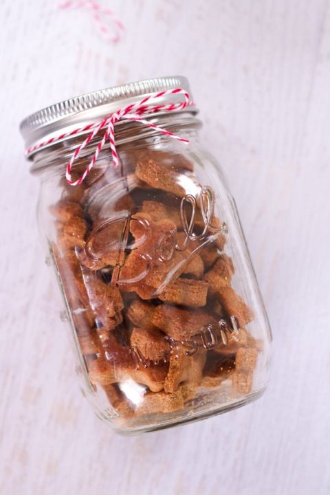 Homemade dog treats are a fun gift for the dog lover in your life!
