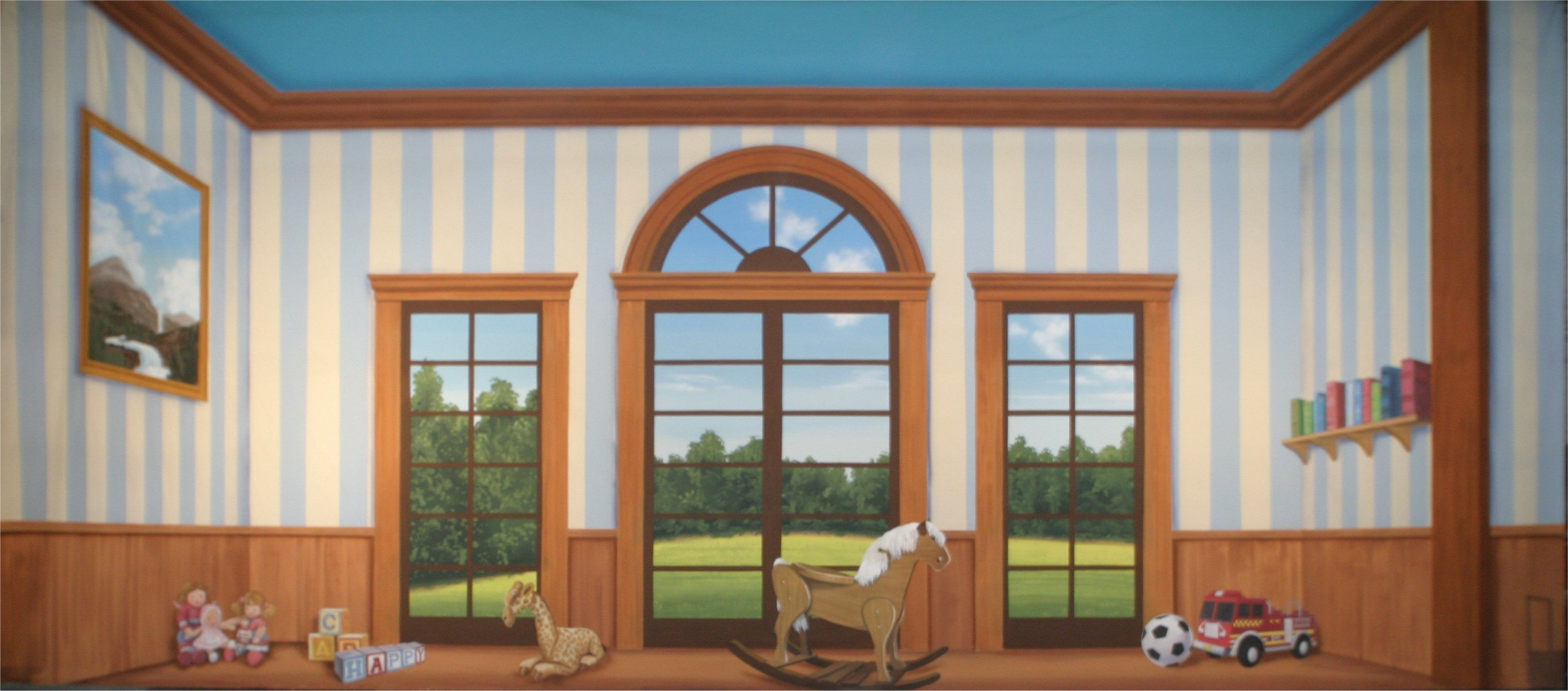 Backdrops For Plays Of Children S Rooms