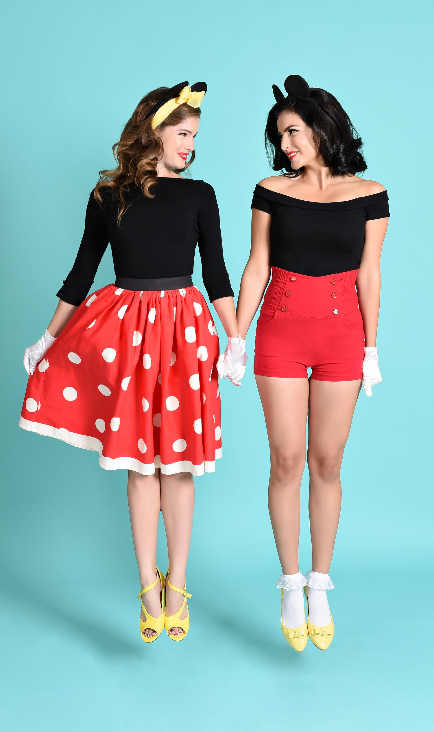 minnie mickey disneybound cosplay - Cute Halloween Costumes For School