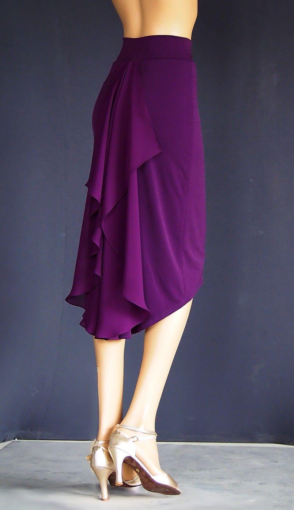 TD-009 tango skirt More | Clothing | Pinterest | Falda, Tango y Costura