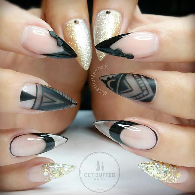 Fantabulous pointy nails designs you would love to have nail fantabulous pointy nails designs you would love to have prinsesfo Choice Image