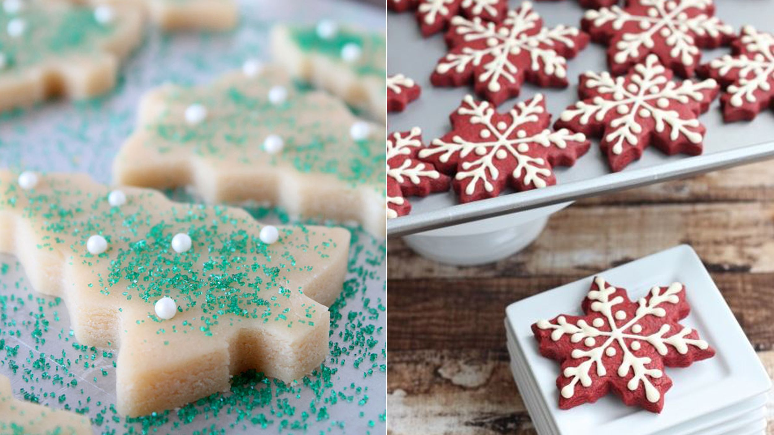 Baking Inspiration 11 Fun And Festive Holiday Cookie Ideas From Pinterest Cookies Recipes Christmas Holiday Cookies Christmas Treats