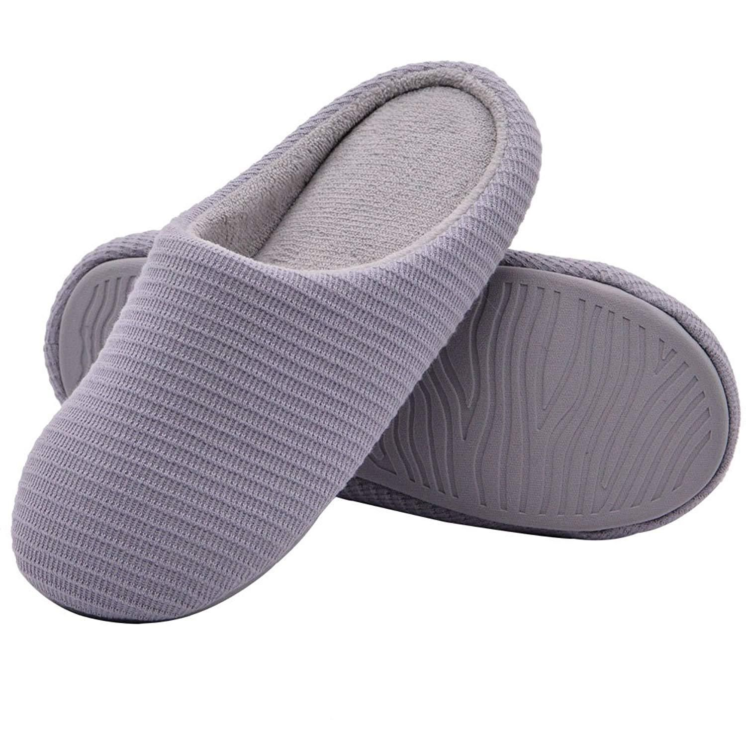 8d15dba94a10de KUIBU Unisex Couples Kids Antiskid Slide Scuff Indoor Home Flat Mules Flax Hemp  Slippers Sandals Footwear ...