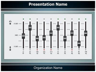 Music equalizer mixing console powerpoint template is one of the music equalizer mixing console powerpoint template is one of the best powerpoint templates by editabletemplates toneelgroepblik Image collections