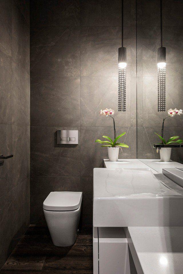 Petite salle de bain et toilettes– idées sur la décoration réussie ...