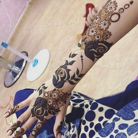 Pin By Farooque Ansari On Mehandi Henna Tattoo Designs Henna Hand Tattoo Henna