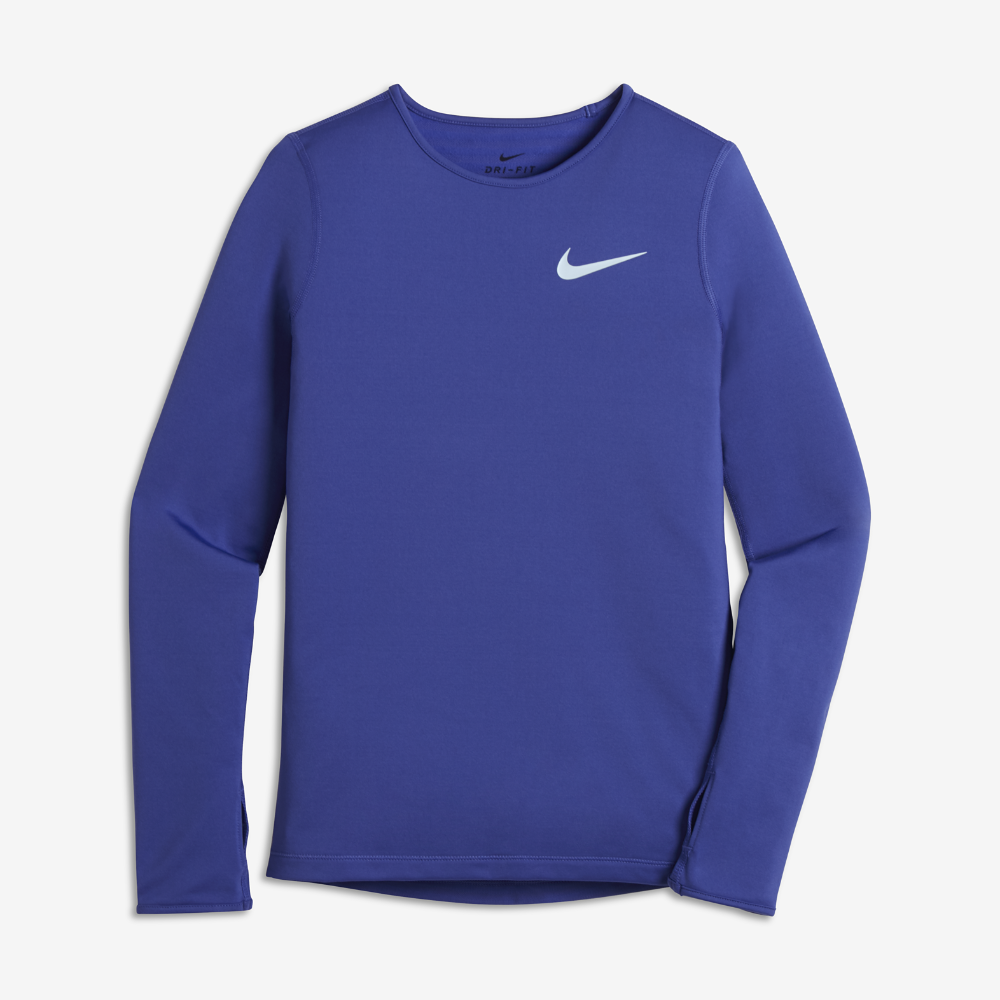 bb30a9e903 Nike Pro Warm Big Kids' (Girls') Long Sleeve Training Top Size ...