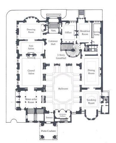 Second Empire Floor Plan Husritningar